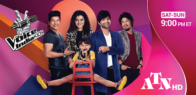 the voice india kids atn hd main